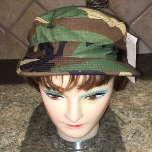 Other - NWT, Military Woodland Camo Hat